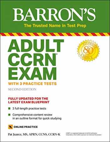 9781438012346-1438012349-Adult CCRN Exam (With 3 Practice Tests ( Barron's Test Prep))