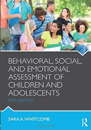 9781138814394-1138814393-Behavioral, Social, and Emotional Assessment of Children and Adolescents