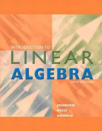 9780134689531-0134689534-Introduction to Linear Algebra (Classic Version) (5th Edition) (Pearson Modern Classics for Advanced Mathematics Series)