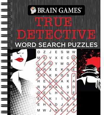9781640306721-1640306722-Brain Games - True Detective Word Search Puzzles
