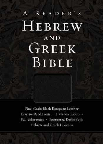 9780310325895-0310325897-A Reader's Hebrew and Greek Bible