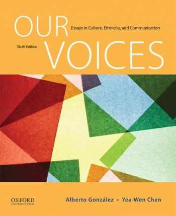 9780190255237-0190255234-Our Voices: Essays in Culture, Ethnicity, and Communication