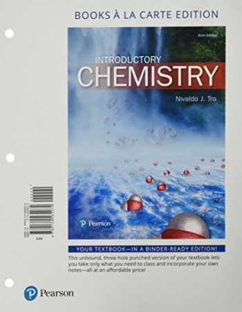 9780134557311-013455731X-Introductory Chemistry, Books a la Carte Plus Mastering Chemistry with Pearson eText -- Access Card Package (6th Edition)