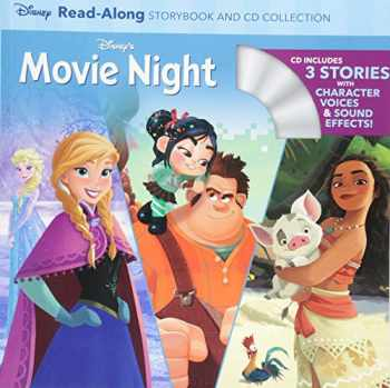 9781368028646-1368028640-Disney's Movie Night Read-Along Storybook and CD Collection: 3-In-1 Feature Animation Bind-Up