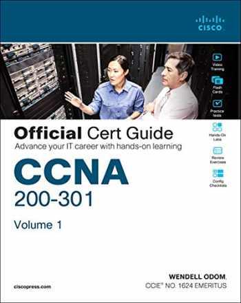 9780135792735-0135792738-CCNA 200-301 Official Cert Guide, Volume 1