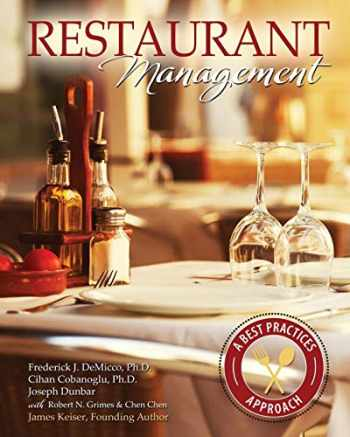 9781465266002-1465266003-Restaurant Management: A Best Practices Approach