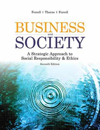 9781948426220-1948426226-Business ans Society: A Strategic Approach to Social Responsibility & Ethics, 7e binder-ready loose-leaf with course code