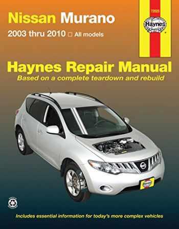 9781563929212-156392921X-Nissan Murano 2003 thru 2010: All Models (Haynes Repair Manual)