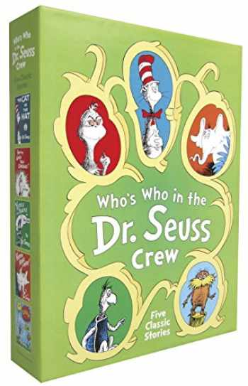 9780385376204-0385376200-Who's Who in the Dr. Seuss Crew Boxed Set: The Cat in the Hat; How the Grinch Stole Christmas!; Yertle the Turtle and other Stories; Horton Hears a Who!; The Lorax (Classic Seuss)