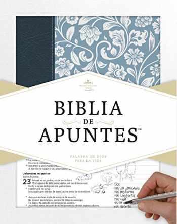 9781433649240-1433649241-RVR 1960 Biblia de apuntes - Azul - Piel genuina y tela impresa (Spanish Edition)