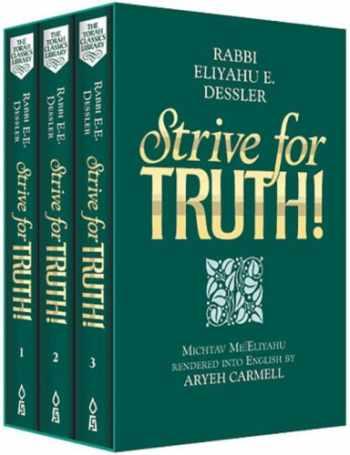9781583303528-1583303529-Strive for Truth/3 Vol Gift Set : The World of Rav Dessler