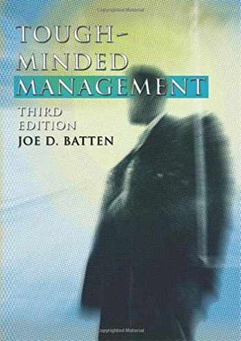 9781592441181-1592441181-Tough-Minded Management: Third Edition