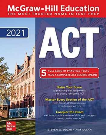 9781260463965-1260463966-McGraw-Hill Education ACT 2021