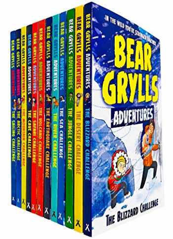 9789123777747-9123777745-Bear Grylls Complete Adventure Series 12 Books Collection Set