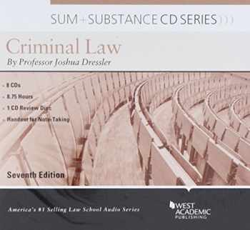 9781642420838-1642420832-Sum and Substance Audio on Criminal Law