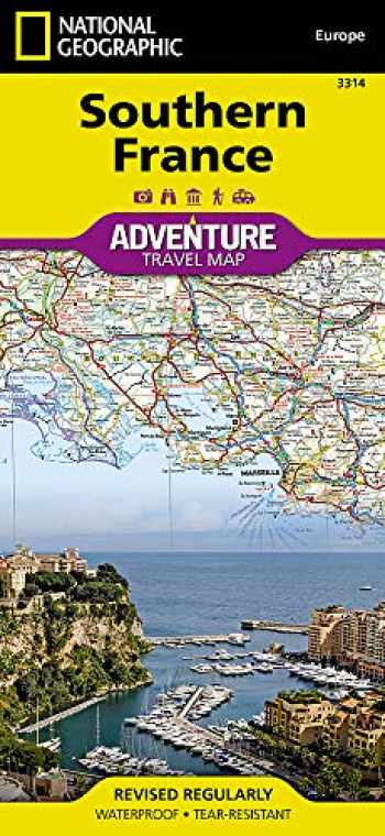 9781566956055-1566956056-Southern France (National Geographic Adventure Map, 3314)