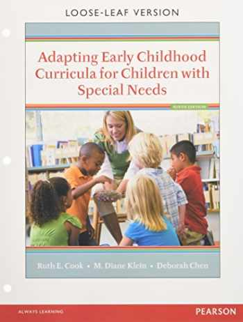 9780134019413-0134019415-Adapting Early Childhood Curricula for Children with Special Needs, Enhanced Pearson eText with Loose-Leaf Version -- Access Card Package (9th Edition)