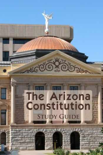 9780974020044-0974020044-The Arizona Constitution Study Guide