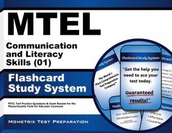 9781610720342-1610720342-MTEL Communication and Literacy Skills (01) Flashcard Study System: MTEL Test Practice Questions & Exam Review for the Massachusetts Tests for Educator Licensure (Cards)