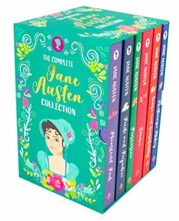 9781782264736-1782264736-The Complete Jane Austen Collection - 6 Book Box Set (Sense and Sensibility, Pride and Prejudice, Mansfield Park, Emma, Northanger Abbey and Persuasion)