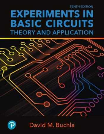 9780134879987-0134879988-Experiments in Basic Circuits: Theory and Application