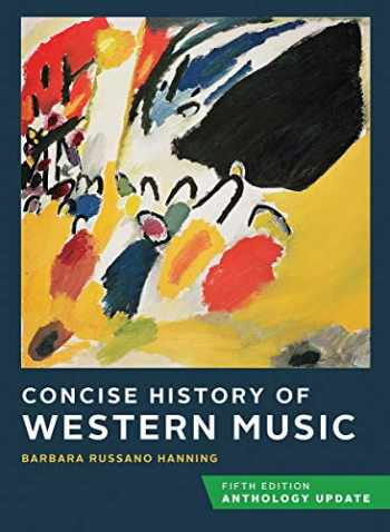 9780393419610-0393419614-Concise History of Western Music Fifth Edition Anthology Update Hardbound