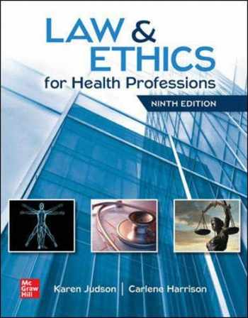 9781260021943-1260021947-Law & Ethics for Health Professions