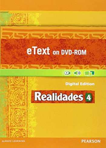 9780133204636-0133204634-REALIDADES 2014 STUDENT EDITION ETEXT DVDROM LEVEL 4