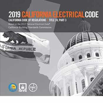 9781455924271-145592427X-2019 California Electrical Code, Title 24, Part 3