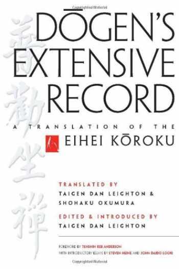 9780861716708-0861716701-Dogen's Extensive Record: A Translation of the Eihei Koroku