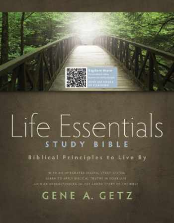 9781586400330-1586400339-Life Essentials Study Bible, Hardcover Indexed: Biblical Principles to Live By