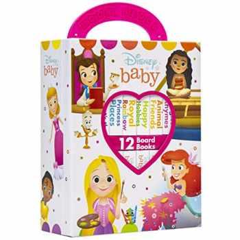 9781503746466-1503746461-Disney Baby Princess - My First Library Board Book Block 12 Book Set - PI Kids