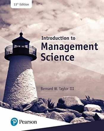 9780134730660-0134730666-Introduction to Management Science (13th Edition) (What's New in Operations Management)