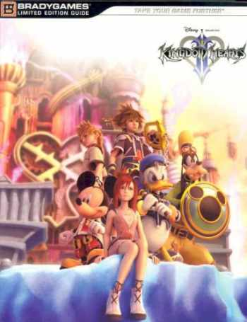 9780744006247-0744006244-Kingdom Hearts II Limited Edition Strategy Guide (Official Strategy Guides)