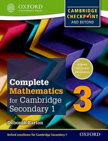 9780199137107-0199137102-Complete Mathematics for Cambridge Secondary 1 Student Book 3: For Cambridge Checkpoint and beyond