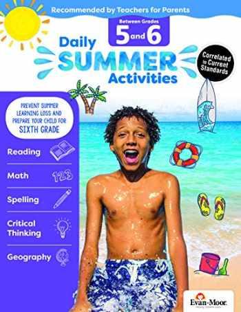 9781629384887-1629384887-Evan-Moor Daily Summer Activities, Grade 5-6