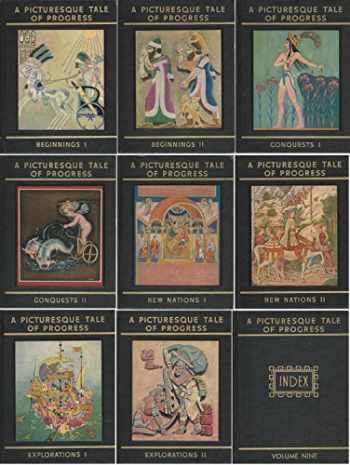 9781597313742-1597313742-A Picturesque Tale of Progress Complete Set, Volumes 1-9