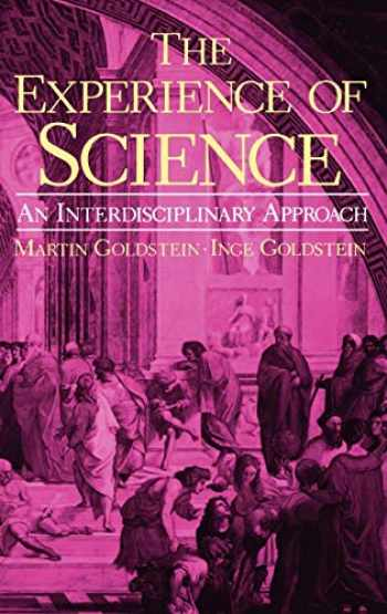 9780306415388-0306415380-The Experience of Science: An Interdisciplinary Approach