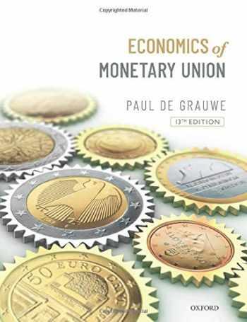 9780198849544-0198849540-Economics of the Monetary Union