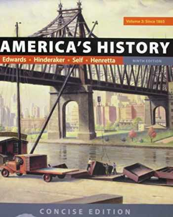 9781319060596-1319060595-America's History: Concise Edition, Volume 2