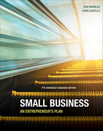 9780176703479-0176703470-Small Business An Entrepreneur's Plan