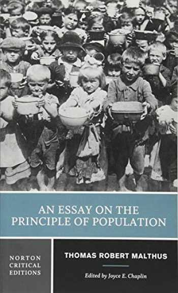 9781324000556-1324000554-An Essay on the Principle of Population (First Edition) (Norton Critical Editions)