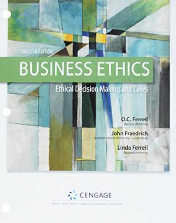 9781337738200-1337738204-Business Ethics + Mindtap Management, 1-term, 6 Month Printed Access Card: Ethical Decision Making & Cases