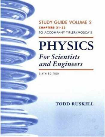 9781429204101-1429204109-Physics for Scientists and Engineers Study Guide, Vol. 2