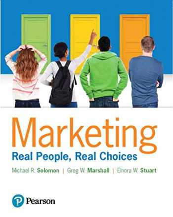 9780134639604-013463960X-Marketing: Real People, Real Choices Plus MyLab Marketing with Pearson eText -- Access Card Package (9th Edition)