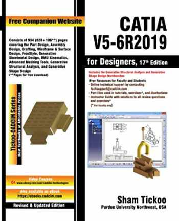 9781640570863-1640570861-CATIA V5-6R2019 for Designers, 17th Edition