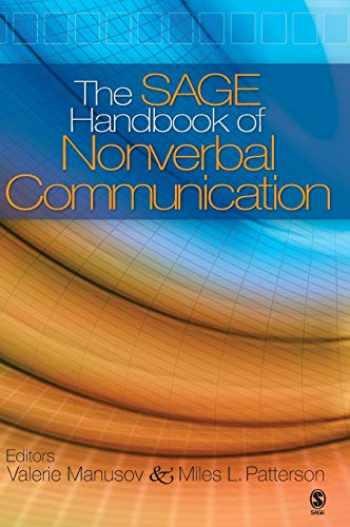 9781412904049-1412904048-The SAGE Handbook of Nonverbal Communication