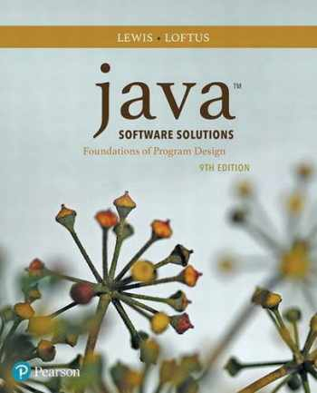 9780134462028-0134462025-Java Software Solutions