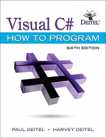 9780134601540-0134601548-Visual C# How to Program (6th Edition) (Deitel Series)