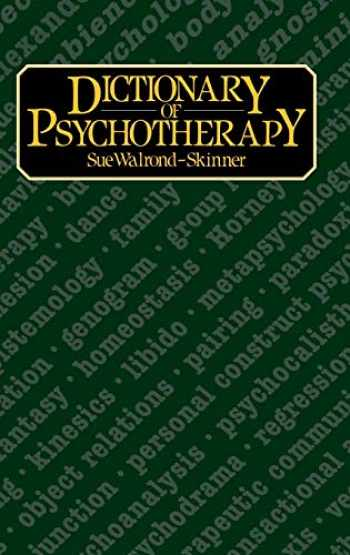 9780710099785-0710099789-Dictionary of Psychotherapy